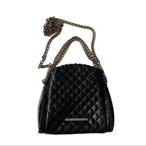 Steve Madden Faux Leather Crossbody Bag Quilted